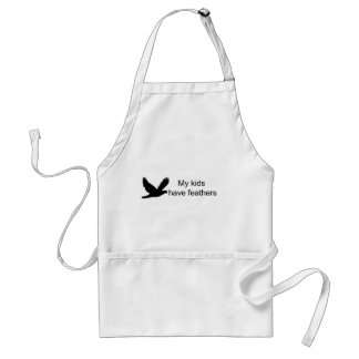 My Kids Have Feathers Apron