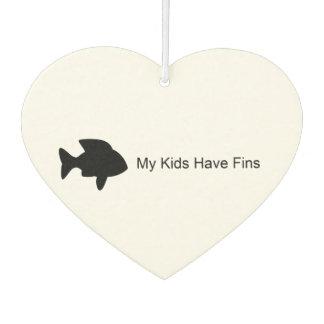 My Kids Have Fins (Fish) Air Freshener