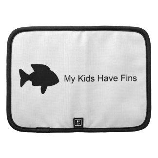 My Kids Have Fins (Fish) Folio Planner