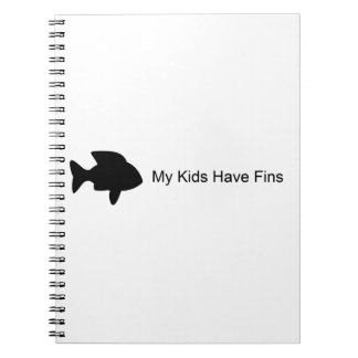 My Kids Have Fins (Fish) Note Book