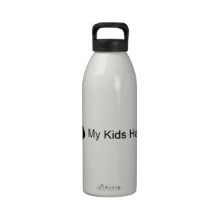 My Kids Have Fins (Fish) Water Bottle