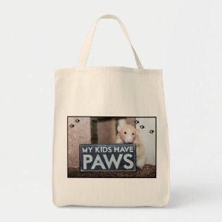 My Kids Have Paws Marty Totebag Tote Bag