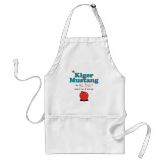 My Kiger Mustang is All That! Funny Horse Adult Apron