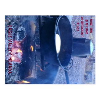 My Kind of Breakfast - Eagle Valley Postcard