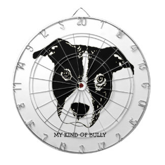 My Kind Of Bully - Pillow Dartboard With Darts