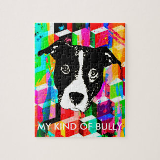 My Kind Of Bully - Pillow Jigsaw Puzzle