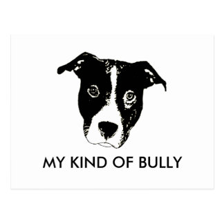 My Kind Of Bully - Pillow Postcard