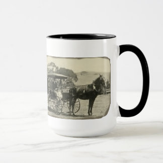 My kind of horsepower mug with vintage photo