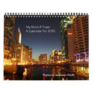 My Kind of Town Calendar