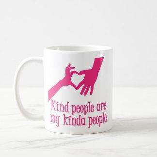 MY KINDA PEOPLE, melon Coffee Mug