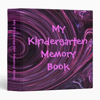 My Kindergarten Memory Book Binders