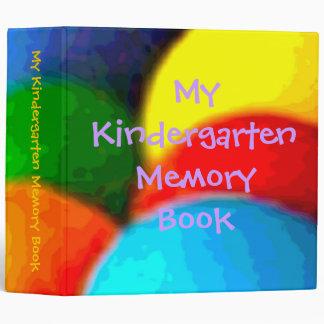 My Kindergarten Memory Book Vinyl Binder