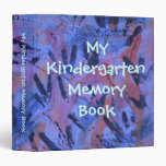 My Kindergarten Memory Book Binder