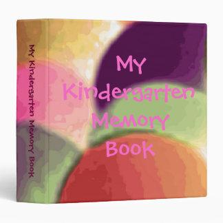 My Kindergarten Memory Book Vinyl Binders