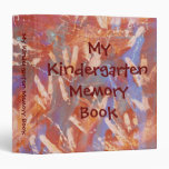 My Kindergarten Memory Book Vinyl Binder