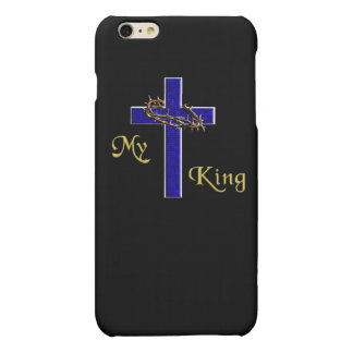 My King Christian Cross products Matte iPhone 6 Plus Case