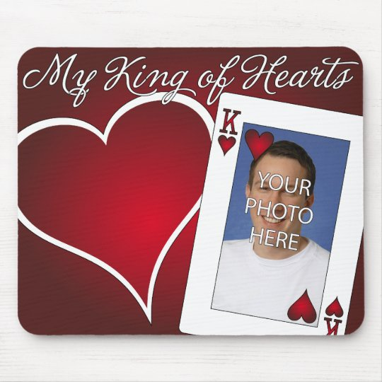 My King of Hearts - Poker Love Mouse Pad