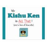 My Kishu Ken is All That! Post Card
