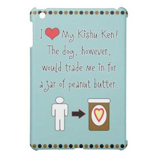My Kishu Ken Loves Peanut Butter iPad Mini Cover