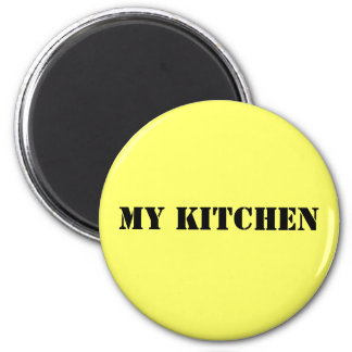 MY KITCHEN 2 INCH ROUND MAGNET