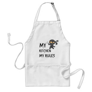 My Kitchen My Rule Adult Apron