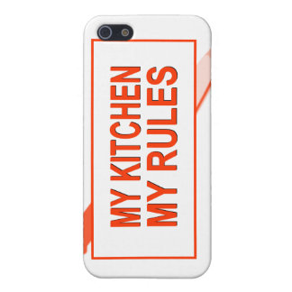 My Kitchen. My Rules. Fun Design for Kitchen Boss iPhone SE/5/5s Case