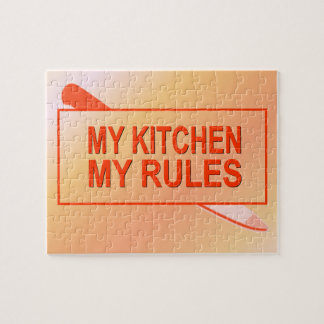 My Kitchen. My Rules. Fun Design for Kitchen Boss Puzzle