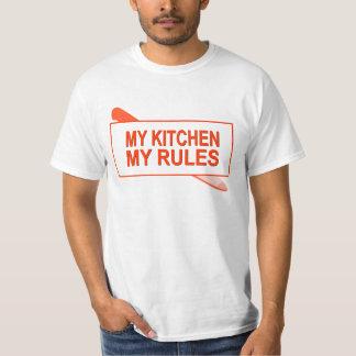 My Kitchen. My Rules. Fun Design for Kitchen Boss Shirts