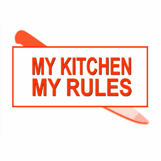 My Kitchen. My Rules. Fun Design for Kitchen Boss Statuette