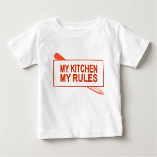 My Kitchen. My Rules. Fun Design for Kitchen Boss Tee Shirt