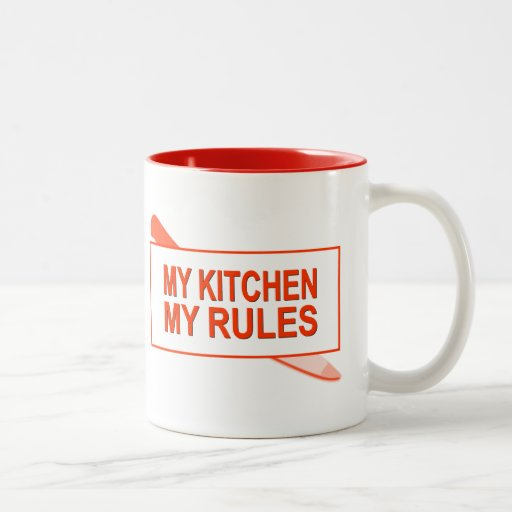 My kitchen my rules fun design for kitchen boss two tone for Kitchen design 8 x 6