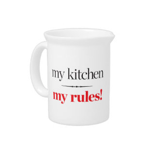 My Kitchen, My Rules Drink Pitchers