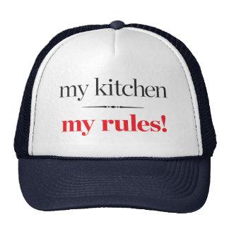 My Kitchen, My Rules Trucker Hat