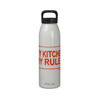 My Kitchen. My Rules. Drinking Bottle