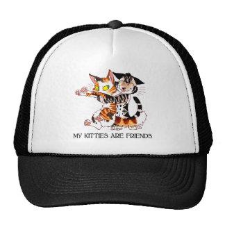 My Kitties Are Friends Hats