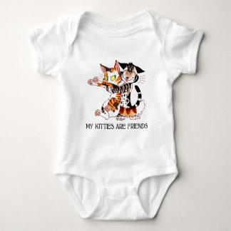 My Kitties Are Friends T Shirt