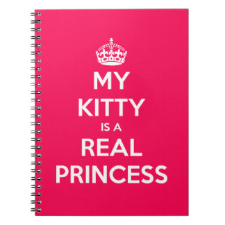 My Kitty Is A Real Princess Notebook