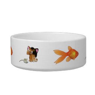 My Kitty Prefers Fish Cat Bowl