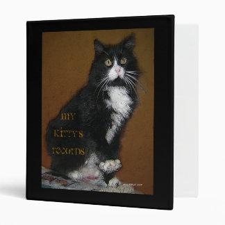 My Kitty's Records Binder