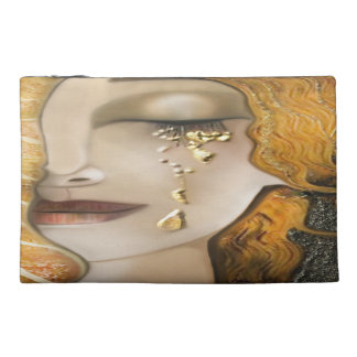 My Klimt Serie : Gold Klimt Travel Accessory Bag