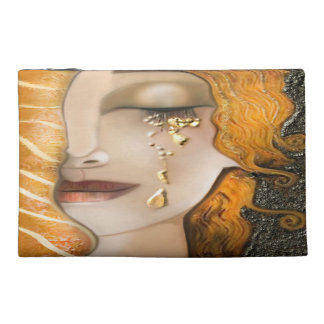 My Klimt Serie : Gold Travel Accessory Bag