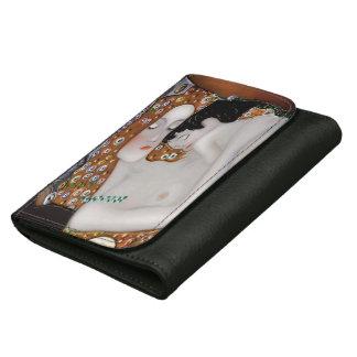 My Klimt Serie : Mother & Child Leather Wallets