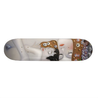 My Klimt Serie : Mother & Child Skateboard Deck