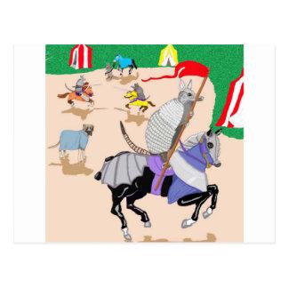 My Knight In Shining Armor Postcard