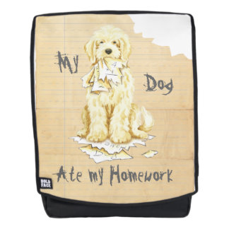 My Komondor Ate My Homework Backpack