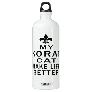 My Korat Cat Make Life Better SIGG Traveler 1.0L Water Bottle