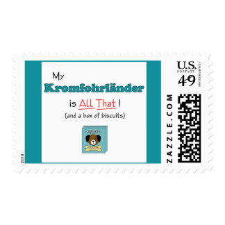 My Kromfohrlander is All That! Postage