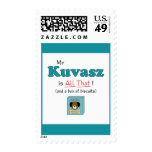 My Kuvasz is All That! Stamps