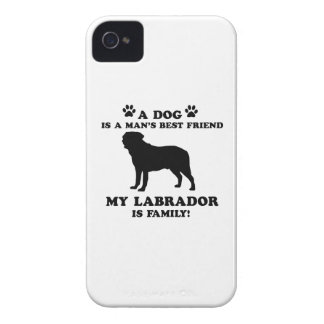 My labrador family, your dog just a best friend Case-Mate iPhone 4 cases