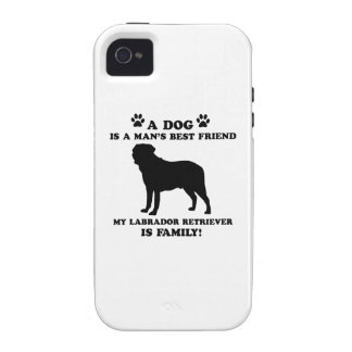 My labrador retriever family, your dog just a best Case-Mate iPhone 4 case